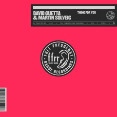 Thing For You - David Guetta & Martin Solveig